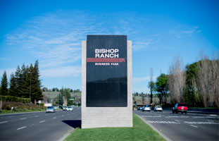 We are in the Bishop Ranch Office Complex #11.