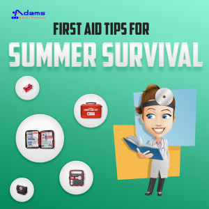 First aid tips for summer survival