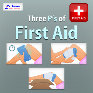 Three P's of first aid