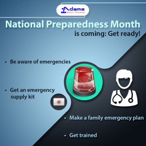 National Preparedness Month is coming: Get ready!