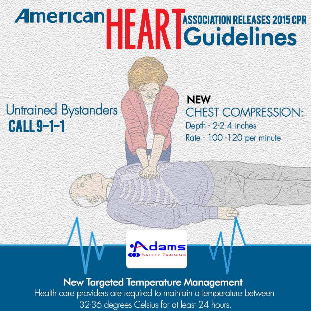American Heart Association Releases New 2015 Cpr Guidelines Adams