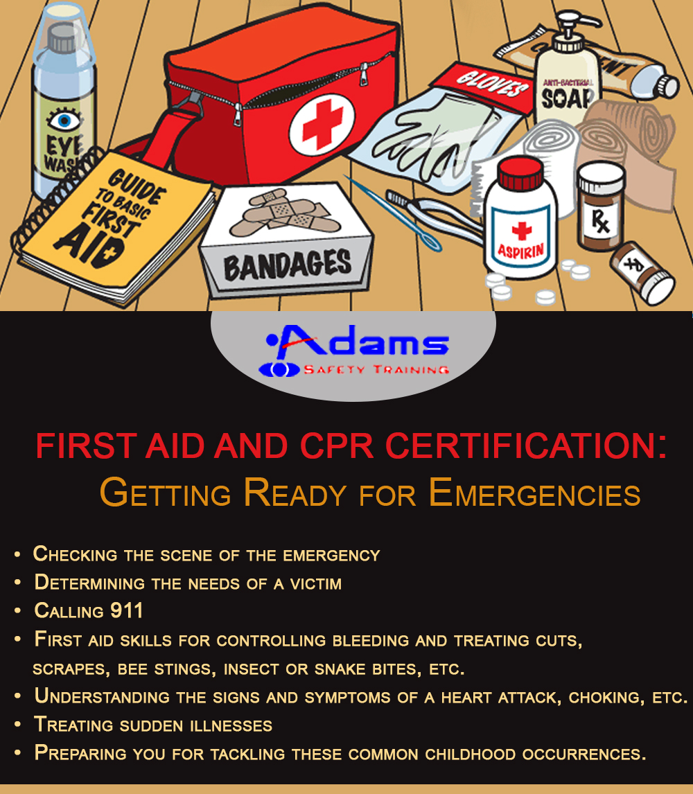 First Aid and CPR Certification: Getting Ready for Emergencies