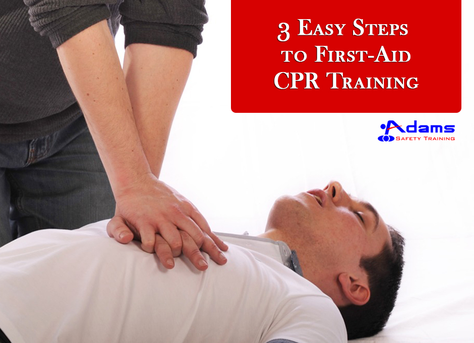 Steps to First Aid CPR Training