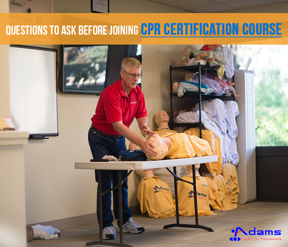 Questions to Ask Before Joining CPR Certification Course
