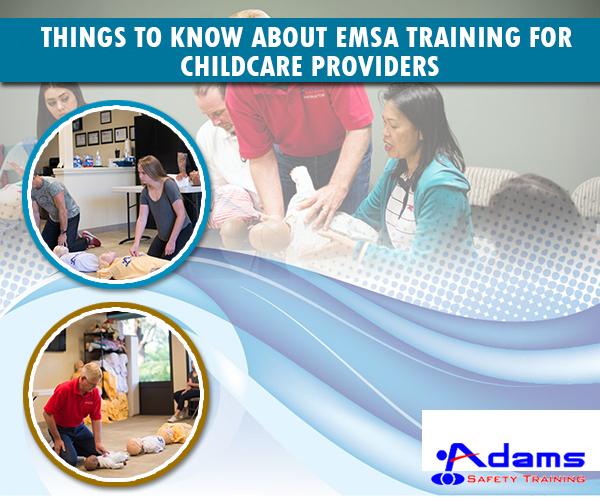EMSA Training For Childcare Providers