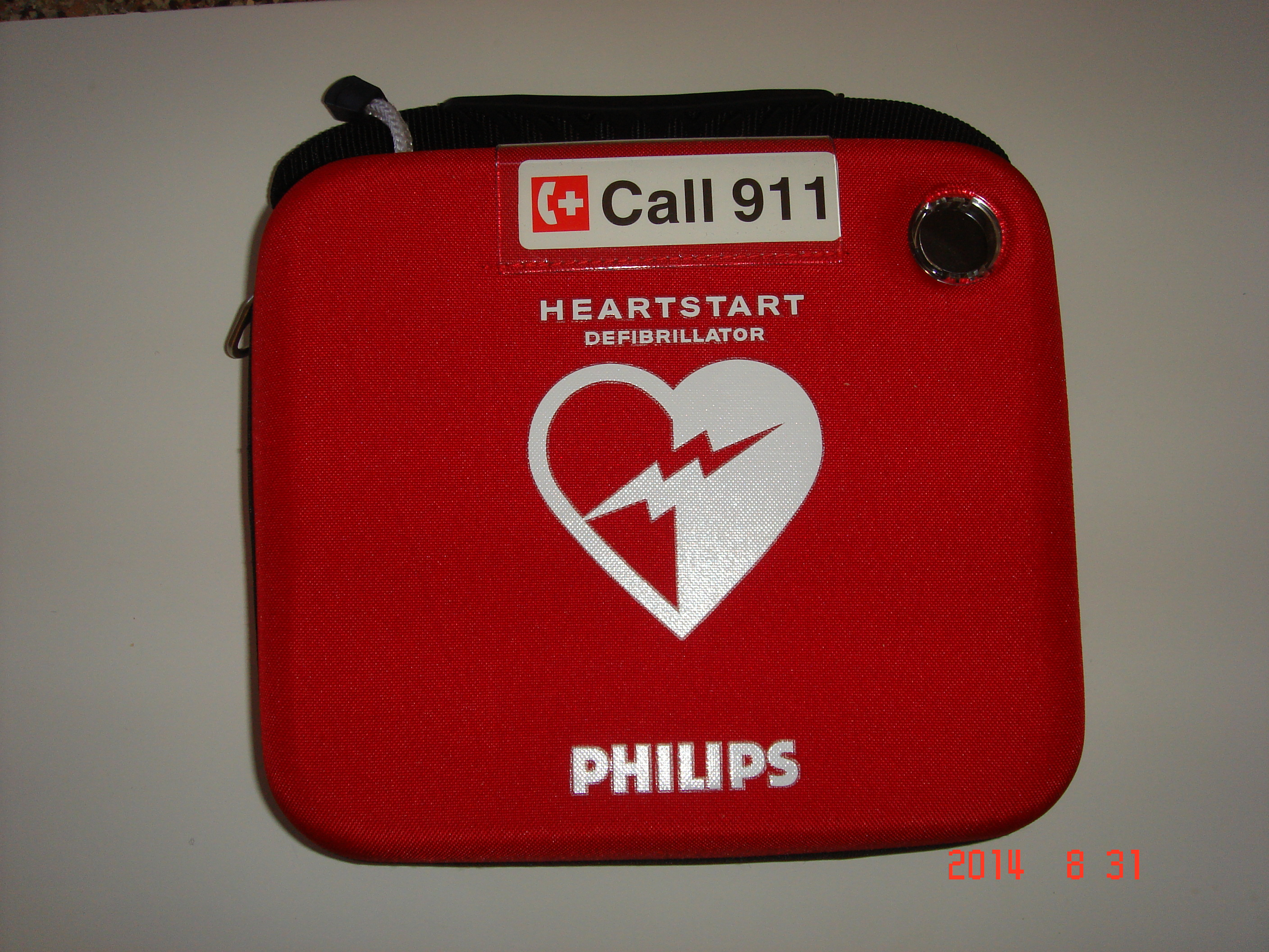 HeartStart Onsite AED carry case