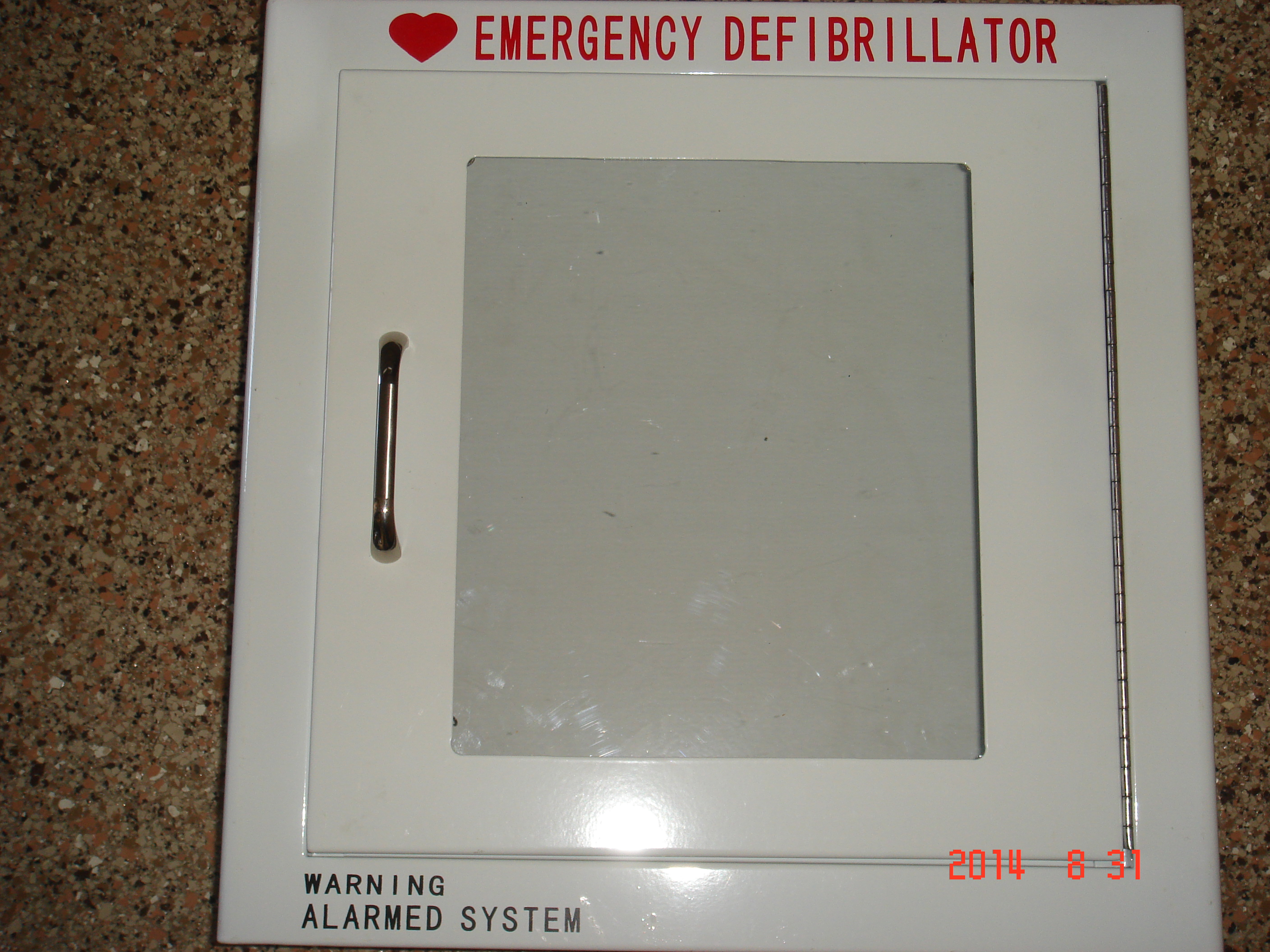 AED Cabinet - Medal