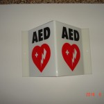 AED Wall Sign #1