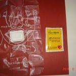 CPR Barrier in foil wallet pack