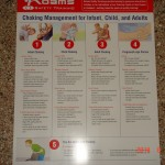 Choking Poster for Infant-Child & Adult
