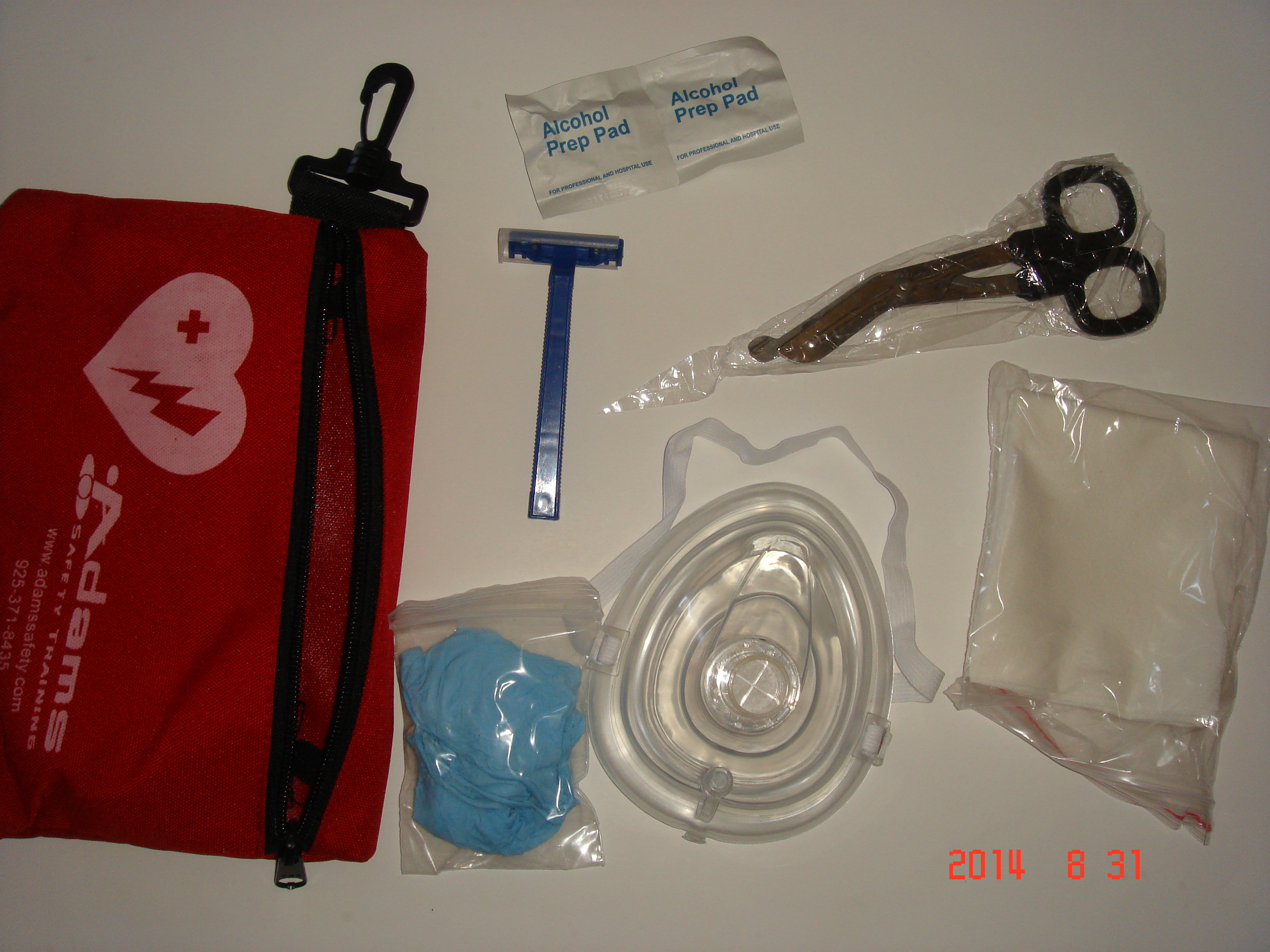 Fast Response kit for AED Unit