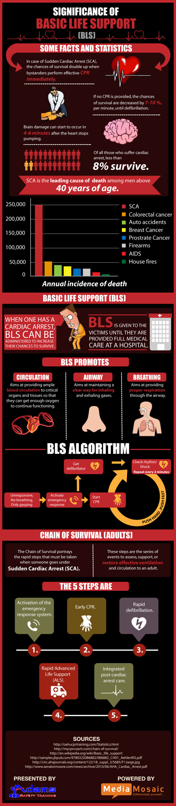 Significance of basic life support infographic adams safety post navigation xflitez Images