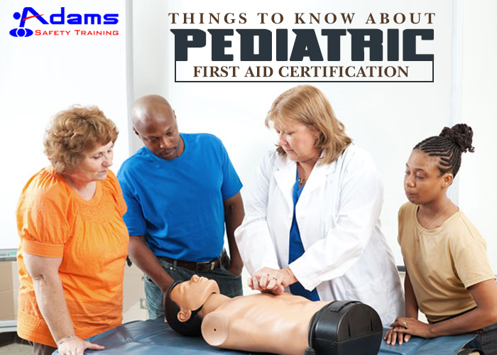 Pediatric First Aid Certification