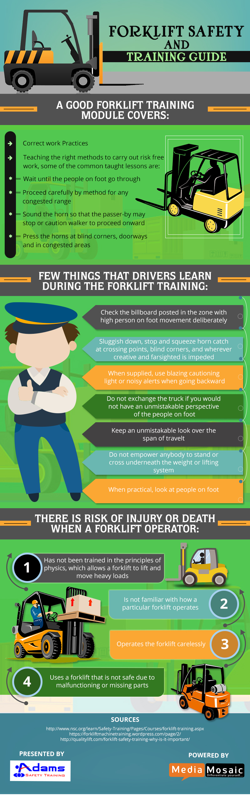 forklift safety and training