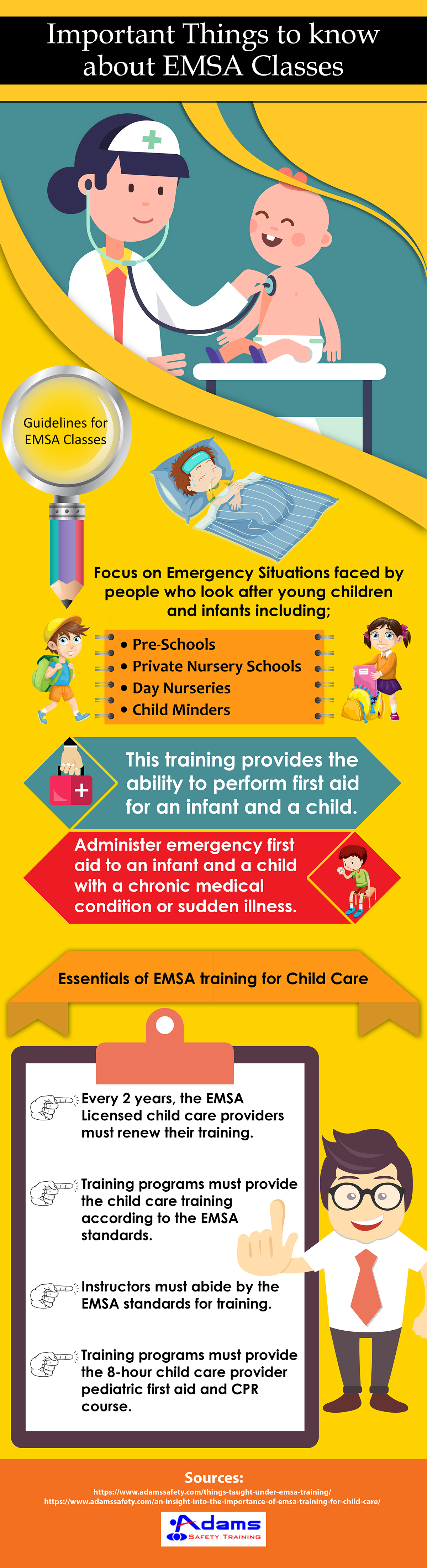 What Are The Benefits Of Going For Emsa Classes Adams Safety